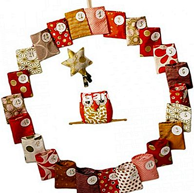 Lilou Swann Fabric Advent Calendar