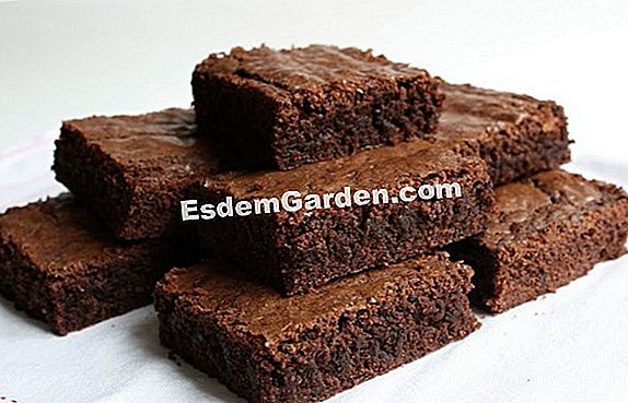 Brownies con castagne