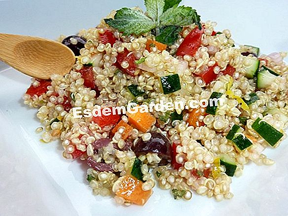 Quinoa, come un cereale...