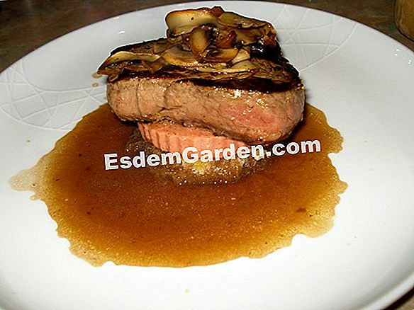 Tournedos Rossini phong cách