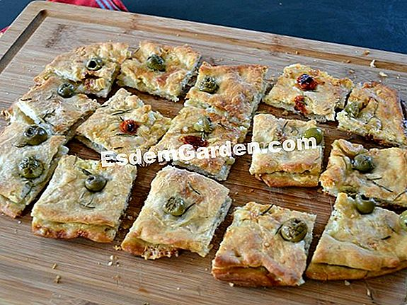 Fougasse in Cantal: impasto