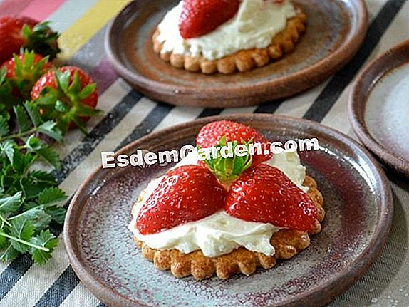Strawberry patties: krim